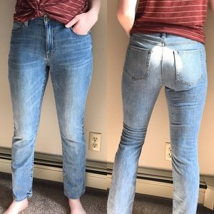 CAbi | High Straight Jeans 8 5309